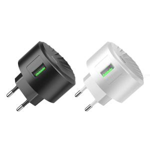 Quick Charge 3.0 18W USB Wall Charger, Compatible Samsung Galaxy Note8  S8  S8+, LG G6  V30, HTC 10 And More - CE Plug