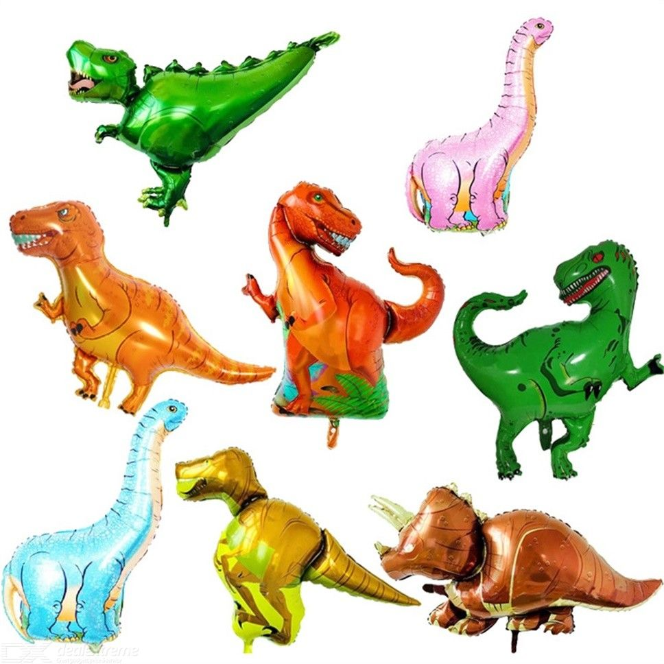 Inflatable | Decoration | Birthday | Dinosaur | Balloon | Raptor | Animal | Party | Air | Toy | Kid