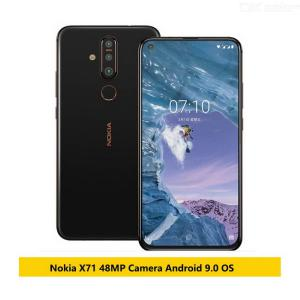 Nokia X71 4G Mobile Phone 6GB RAM 6.39 Inch Snapdragon 660 Octa Core Android 9 48MP Camera Fingerprint - US Plug
