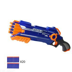 Kids Rifle Gun Toy With 20Pcs Soft Bullets For Boys Above 6 (15-20M Range)