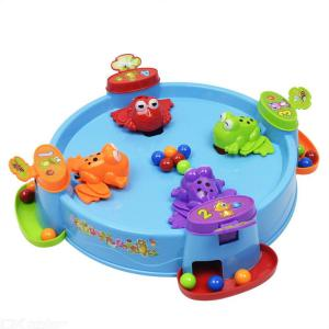 Feeding Hungry Frogs Swallow Ball Game Fun Eating Ball Game Parent-child Game Toys Educational Gift