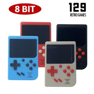 Retro Handheld Game Console 2.4 Inch TFT Screen 129 Classic Games