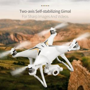 JJRCX6 Drone Cloud Stepper Two-axis Stabilization Aerial Remote Control Drone GPS Fixed Point
