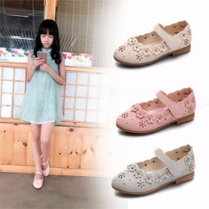 Cute Pointed Toe Leather Shoes Comfort Floral PU Leather Flats