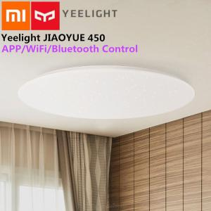 Original Xiaomi Yeelight Smart Ceiling Lamp Dimmable 2200LM WiFi Control Ceiling Light WBluetooth Remote Control