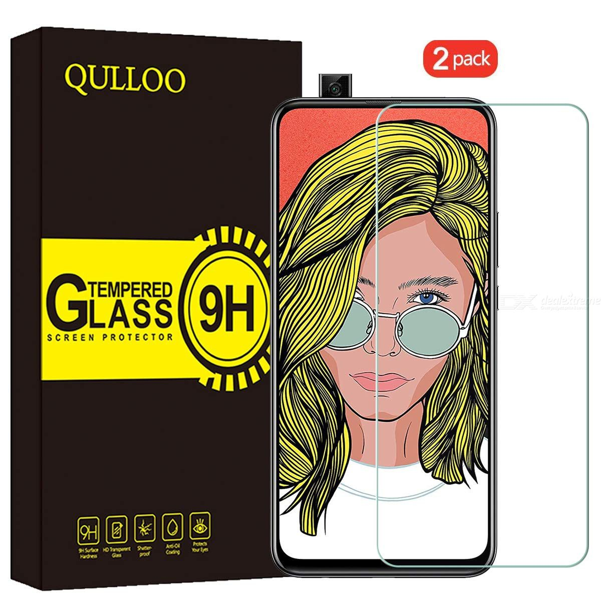 Tempered Glass Screen Protector 2.5D 9H Full Coverage Protection Film for Huawei P Smart ZHuawei Y9 Prime 2019