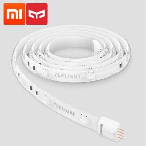 Original Xiaomi Yeelight 1m Extendable LED RGB Color Smart Light Strip, Work With Alexa Google Assistant Mi Home Automation
