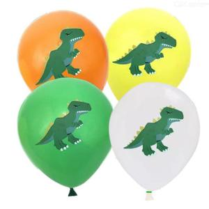10PCS 12 Inch Dinosaur Balloons For Home Party Decoration