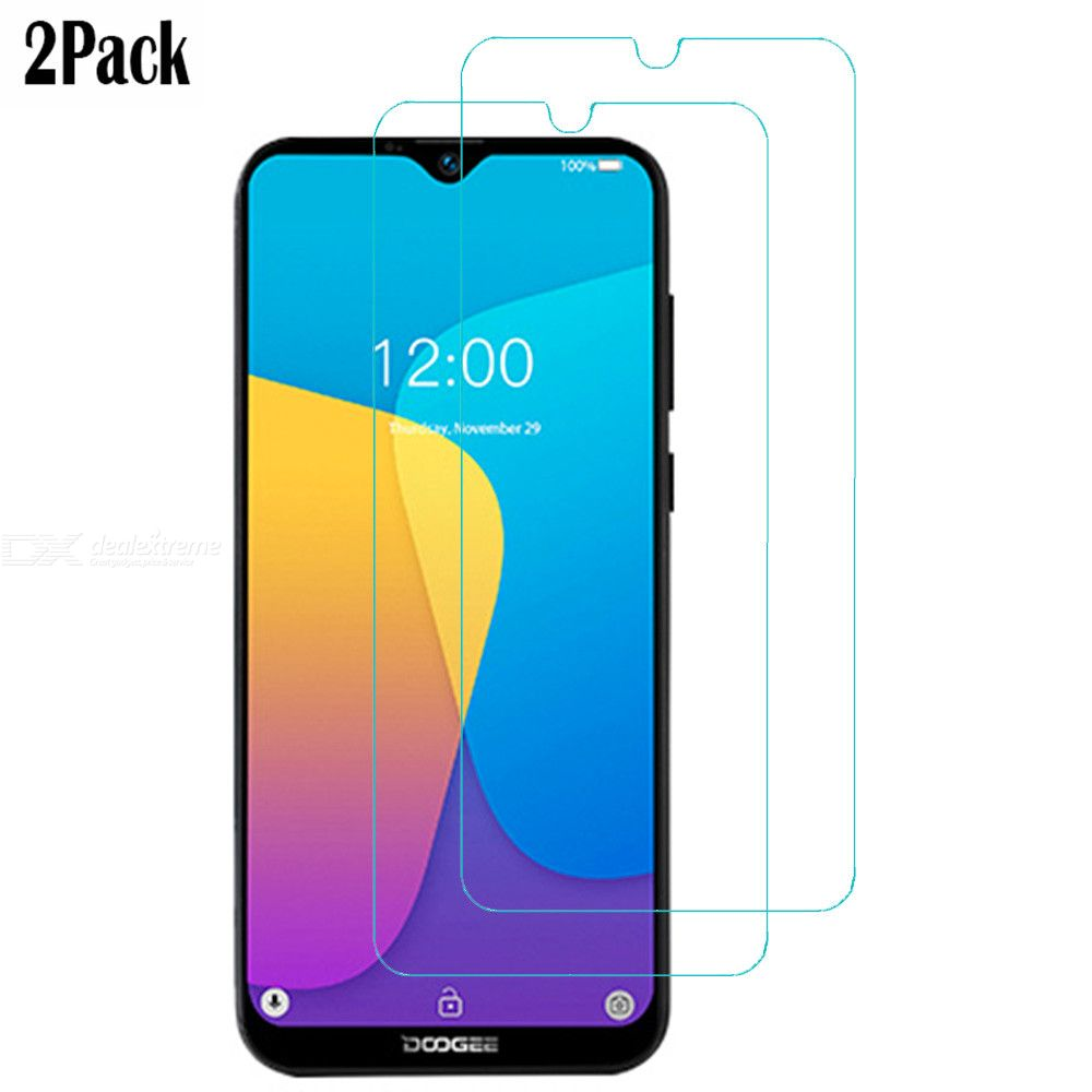 Naxtop 2.5D Tempered Glass Screen Protector For Doogee X90L