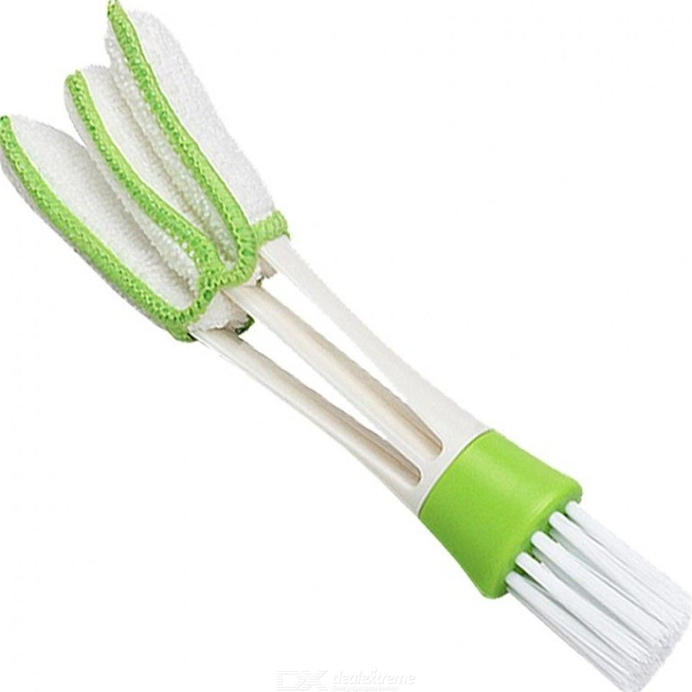 Channel Into A Multi-functional Trigeminal Air-conditioning Fans Gap Cleaning Cleaning Brush