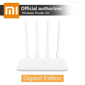 Original Xiaomi Mi Router 4A Gigabit Version 2.4GHz 5GHz 1167Mbps WiFi Repeater 128MB DDR3 High Gain 4 Antennas Network Extender