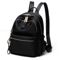 Womene28099s-Backpack-Fashionable-Lightweight-Large-Capacity-Oxford-Cloth-Purse-Travel-Backpack-Black