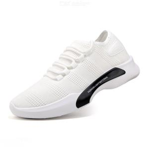Mens Breathable Running Shoes Casual Soft Sneaker Shoes