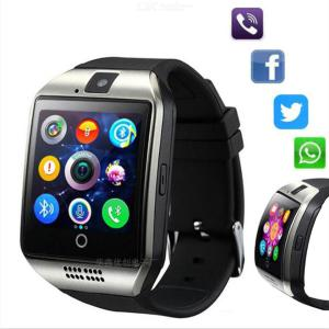Q18 Bluetooth Touch Screen Smart Watch Multifunctional Sports Wristband Support SIM Card For IOS Android