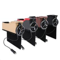 Vehicle-Storage-Box-With-USB-Charging-Receive-A-Case-Change-Water-Beverage-Holder-Multi-function-Cracks-Car-Leather-Box-6009-USB