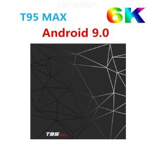 Android 9.0 TV Box 4GB64GB T95 Max Smart TV BOX Allwinner H6 Quad Core 6K HDR 2.4GHz Wifi Google Player