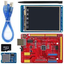 OPEN-SMART-24-Inch-240x320-TFT-LCD-Touch-Screen-Breakout-Board-Module-Kit-with-Easy-plug-UNO-R3-Air-Board-for-Arduino-UNO-R3