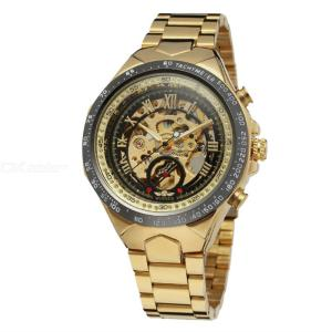 Winner Fashion Personalized Mechanical Wristwatch, Automatic Self-Wind Business Watch For Men