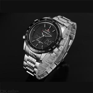 Mens Stylish Wristwatch Waterproof Outdoor Sports Watch With Backlit