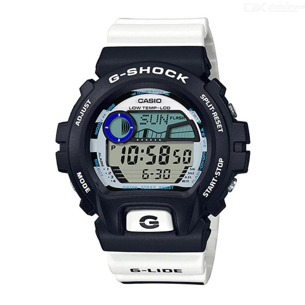 Casio G-Shock G-Lide GLX-6900SS-1 Digital Watch - Black + White
