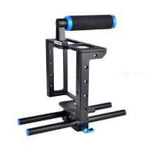 YELANGU-C1-Professional-DSLR-Camera-Cages-Aluminum-Alloy-Video-Cage-Kit-with-Top-Hand-Grip