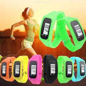 LED Sports Watch Multifunctional Sports Bracelet With Pedometer