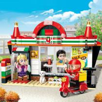 Convenience-Store-Building-Blocks-Educational-Toys-With-319-Blocks-For-Children-Over-6-Years-Old