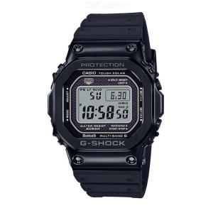 Casio G-Shock GMW-B5000G-1 Bluetooth Multiband Solar Metal Watch - Black