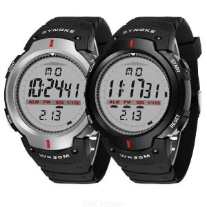 SYNOKE Mens Large Dial Digital Watch Waterproof Outdoor Sports Watch
