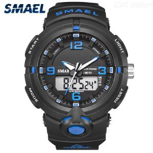 Mens Digital Sports Watch Waterproof Outdoor Watch With Backlight