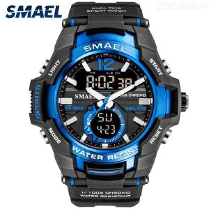SMAEL 1805 Multifunctional Sport Wristwatches Male Waterproof Digital LED Military Watch For Outdoor