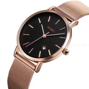 SKMEI 1530 Womens Casual Quartz Watch Fashion Slim Analog Watch