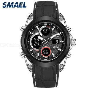 SMAEL 1427 Male Digital Sport Wristwatches Multifunctional Waterproof Military Watch For Outdoor