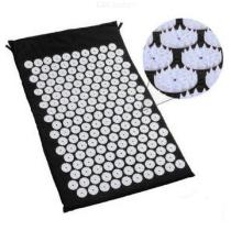 Lotus-Acupressure-Mat-for-Relieving-Stress-Pain-Massage-Cushion-for-Back-Neck-Hip-Pain-with-Storage-Bag-Black