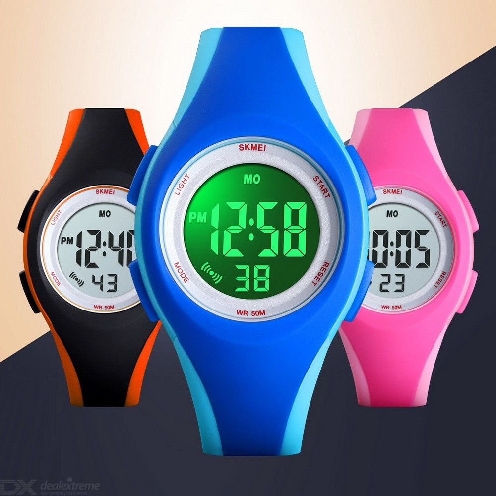SKMEI 1459 Childrens Sports Watch Waterproof Digital Watch With Backlight