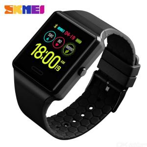 SKMEI 1526 Smart Watch Fashion Digital Sport Watch Muti-function Bluetooth Health Monitor Waterproof  Watch For Adults