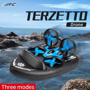 Model JJRC H36F Latest Water Mode  Ground Mode  Flight Mode Three-in-one Four-axis Remote Control Vehicle