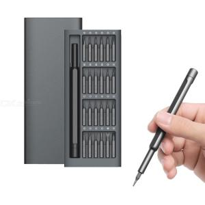 24 in 1 Aluminum Alloy Magnetic Screwdriver Set  Repair Tool For Xiaomi Huawei Apple Mobile Phone