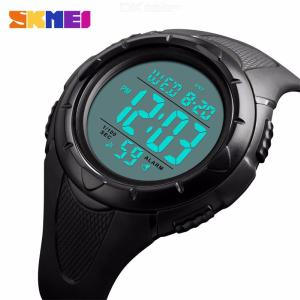 SKMEI 1535 Mens Large Dial Sports Watch Simple Waterproof Tactical Watch