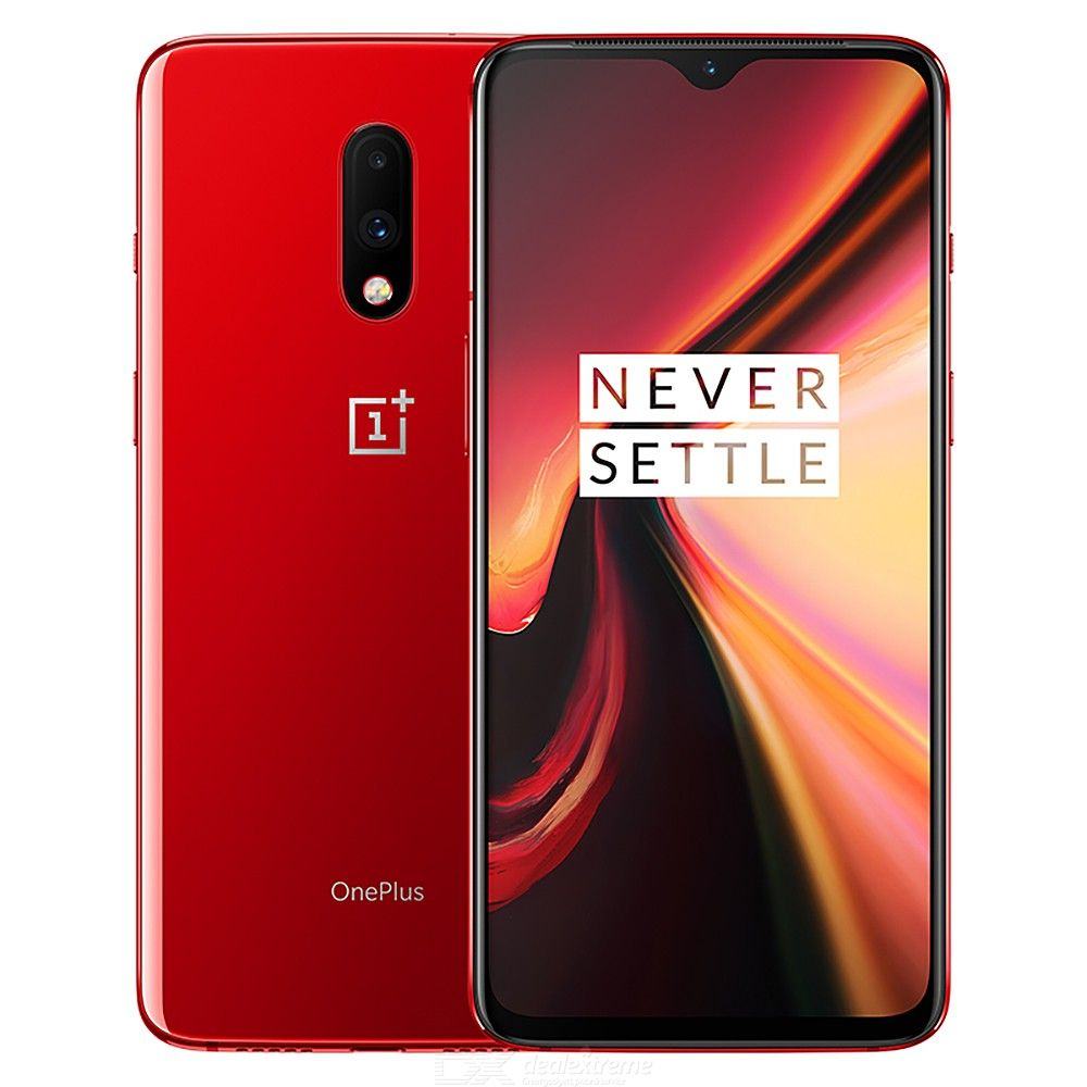 Original Oneplus 7 Mobile Phone Global, 6.41 Inch AMOLED Display Unlock NFC Phone With 8GB RAM, 256GB ROM, 3700mAh - US Plug