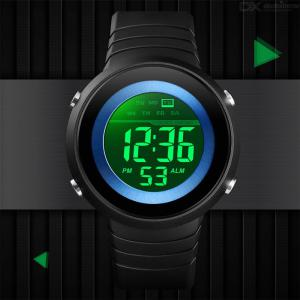 SKMEI 1497 Fashion Men LED Digital Watch Multifunctional Military Sports Watches Waterproof Male Wristwatches For Outdoor