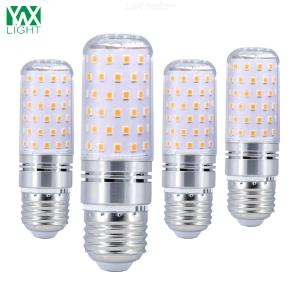 YWXLight® 4PCS E27 16W 1600LM LED Bulbs Candle Lights LED Corn Lights 80LED SMD 2835 Cold White Warm White AC 85-265 V
