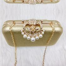 New-Arrival-Chinese-Chi-pao-Matched-Mini-Inlaid-Pearls-Shinning-Powder-Paillette-Handbag-For-Banquet