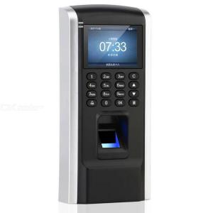 Biometric Fingerprint Password Attendance Machine Employee Checking-In Recorder with 2.2'' Screen TCPIP Not Supported