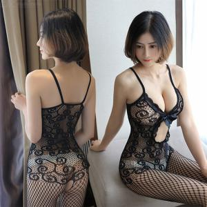 Womens Sexy Lingerie See-through One Piece Babydoll Bodysuit