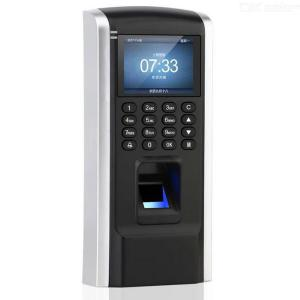 Biometric Fingerprint Password Attendance Machine Employee Checking-In Recorder with 2.2 Inch Screen TCPIP Supported