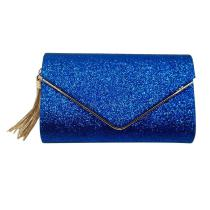 Trend-Shinning-Brief-Tiny-Handbag-With-Tassels-For-Banquets