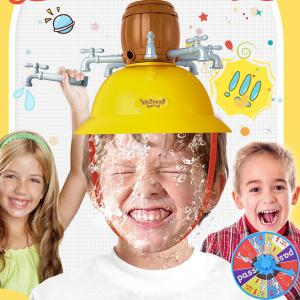 Creative Wet Head Challenge Game Funny Roulette Dunk Hat Game