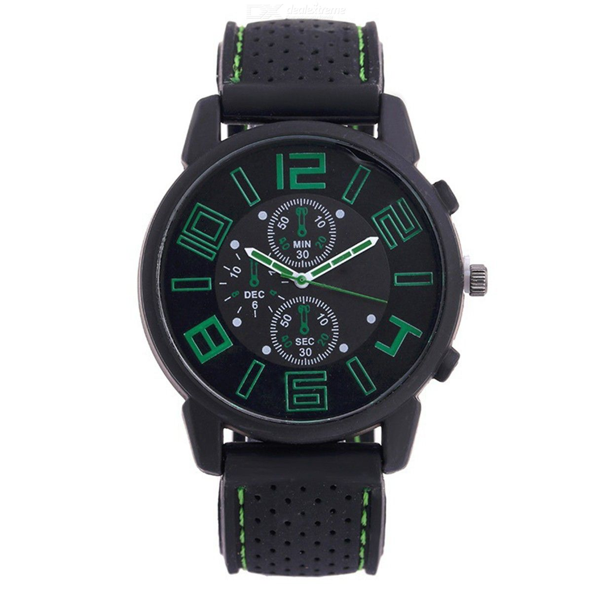 Casual Mens Wrist Watch Fashion Analog Watch With Leather Band