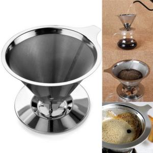 Reusable Coffee Filter Stainless Steel Pour Over Coffee Dripper